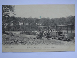 CPA (33) Gironde - Environs D'Arcachon - Le Tramway Du Phare - Arcachon