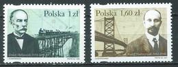 Pologne YT N°3525/3526 Les Polonais Dans Le Monde Neuf ** - Ungebraucht