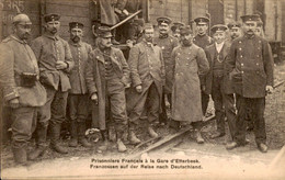 België - Etterbeek - La Gare Station - Prisonniers - 1916 - Non Classificati
