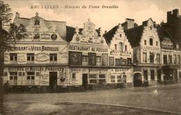 België - Bruxelles Brussel - Restaurant Vieux Huitres Moules Parquees Au Poisson Huitres Desmet - 1915 - Unclassified