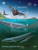 Açores 2021 -  Europa 2021, Chauve-Souris, Baleine Bleu - BF Neuf // Mnh - 2020
