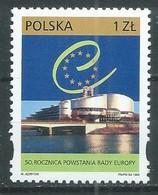 Pologne YT N°3540 Conseil De L'Europe Neuf ** - Ungebraucht