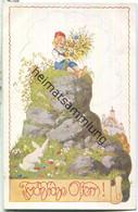 Fröhliche Ostern - Signiert E. Kutzer - Verein Für Das Deutschtum Im Ausland - Easter