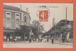 D93 - VILLEMOMBLE - AVENUE DETOUCHE - Nombreux Enfants - Plusieurs Personnes - Café/Restaurant De La Nlle ??? - Villemomble
