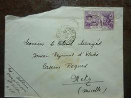 1932   Exposition Coloniale Internationale PARIS 1931 50c Oblitéré Sur Lettre Used - Usados