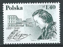 Pologne YT N°3564 Frédéric Chopin Neuf ** - Ungebraucht