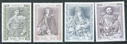 Pologne YT N°3567/3570 Rois, Reines Et Princes Polonais Neuf ** - Ungebraucht