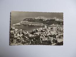 MONACO   -  Vue Panoramique Sur Le Port Et Le Rocher - Monte-Carlo