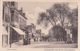4831131Den Helder, Koningstraat Van Af Het Koninsplein. 1917. - Den Helder