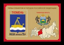 RUSSIE/RUSSIA/RUSSLAND/ROSJA 2019** MI.2679,,ZAG..2461,YVERT..Russia 2019 Mih. 2679 (Bl.273) Arms Of Tyumen Region MNH - Unused Stamps