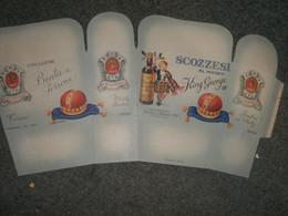 SCATOLA CARTONE APERTA SCOZZESI AL WHISKY BONBONS - Plaques En Carton
