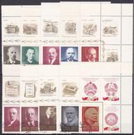 RU074B – USSR – 1970 – BIRTH CENTENARY OF LENIN – MI # 3749/58 USED - Used Stamps