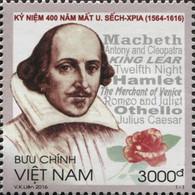 Vietnam 2508 Willian Shakespeare - Writers