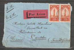 Maroc 1930, Cachet Poste Aux Armées Ouarzazate, Affranch. Insuffisant Pour Donner Droit Au Transport Par Voie Aérienne - Briefe U. Dokumente