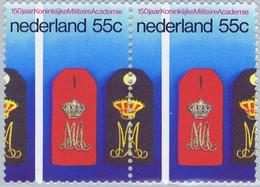 1097A ** - Cote 1,80 €  -  Ecole Militaire à 150 Ans - 1097+1097 P.H. - Unused Stamps