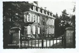 Romedenne Château ( Philippeville ) Carte Petit Format Très Rare - Philippeville