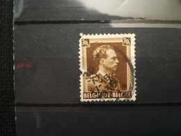 FRANCOBOLLI STAMPS BELGIO BELGIQUE 1936 USED SERIE RE LEOPOLDO III KING LEOPOLD  BELGIE OBLITERE' - 1929-1941 Big Montenez