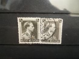 FRANCOBOLLI STAMPS BELGIO BELGIQUE 1938 USED SERIE RE LEOPOLDO III KING LEOPOLD  BELGIE OBLITERE' - 1929-1941 Big Montenez