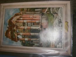 TARGA CARTONE OMAGGIO ENTE PROVINCIALE PER IL TURISMO DI BRESCIA 1949 ILLUSTRATA RICCOBALDI - Plaques En Carton