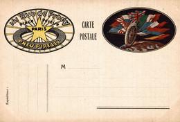 CPA - PARIS - PNEUS PIRELLI - Bandiere Alleati, Drapeaux Alliés - Pubblicitaria, Publicité, Advertising - NV - PU763 - Advertising