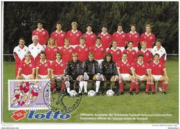 """108 - 15 - Carte Suisse Avec Timbre Et Oblit Spéciale """"Coupe Du Monde 1994"""" - 1994 – Estados Unidos"""