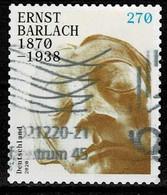 Bund 2020,Michel# 3521 O Ernst Barlach, Selbstklebend - Gebruikt