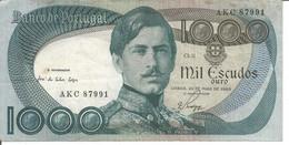 PORTUGAL 1.000$00 ESCUDOS 28/05/1968 Ch.11 - Portogallo