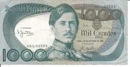 PORTUGAL 1.000$00 ESCUDOS 26/10/1982 Ch.11 - Portogallo