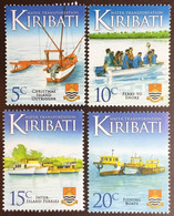 Kiribati 2013 Water Transport 4 Values MNH - Kiribati (1979-...)
