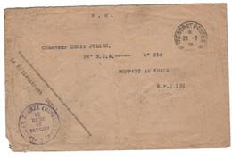 POLOGNE ZABRZE COMMISIION INTERALLIEE DE GOUVERNEMENT ET DE PLEBISCITE DE HAUTE SILESIE  ENVELOPPE VIDE 1922 - Poland