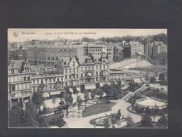 Bruxelles - Square Du Mont Des Arts Et Rue Coudenberg - Postkaart - Brussels (City)