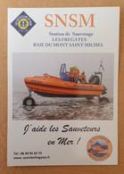 """Stocker Autocollant  """"SNSM Baie Du Mont Saint Michel - Les Frégates  - Saint Jean-le-Thomas / Chanpeaux / Dragey"""" - Stickers"""