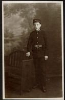 Carte Photo - Jeune Soldat ? 126th East Lancashire Brigade ?? British Army - Photographe J. Bambridge Gateshead - Autres