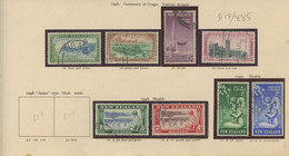 Used Stamps, NEW ZEALAND Lot From 1947 To 1959  (Lot 885) - 5 Scans - Used Stamps