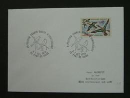 Lettre Cover Exposition Ornithologie Pont De Roide 25 Doubs Ref 40111 - Mechanical Postmarks (Advertisement)