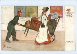 XX14604/ Tuck`s Postcard AK  Holiday Making  Urlaub  Kofferträger Ca.1910 - Unclassified