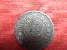 Belgique: 10 Centimes 1917 (Notgeld) Rare - 04. 10 Centimes