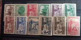 COTE D IVOIRE 1939 - NEUF*/MH - Série Complète YT 151 / 161 - - Nuovi