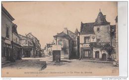 49 - MONTREUIL BELLAY / PLACE DU MARCHE - Montreuil Bellay