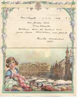 REF4588/ Télégramme-Telegram Déposé à Henri-Chapelle 7/4/37 > Fouron St.Martin C.C.F. St.Martens Voeren 7/4/1937 - Telegraph