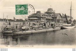 D35  SAINT- MALO  Le Casino   ..... ( Torpilleur Garé Devant Le Casino ) - Saint Malo