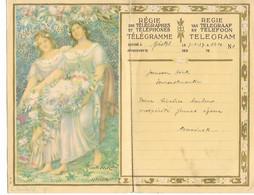 REF4589/ Télégramme-Telegram Déposé à Gistel  7/4/37 > Fouron St.Martin C.C.F. St.Martens Voeren 7/4/1937 - Telegraph