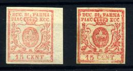 Parma Nº 9. Año 1857/59 - Parme