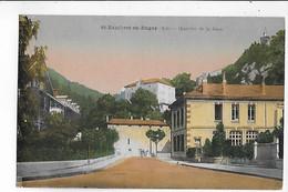 CPA   Colorisée  De   St  RAMBERT  En  BUGEY  -  Quartier  De  La  Gare - Otros Municipios
