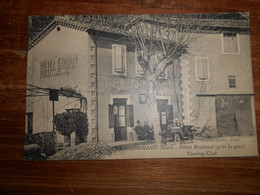 D . 30 - Chamborigaud (gard) Hôtel Rieutord (prés De La Gare) Touring Club - Chamborigaud