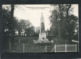 CPA - CHERMIGNAC - Le Monument Aux Morts - Other Municipalities