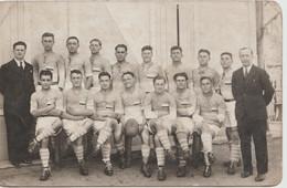 CARTE PHOTO - Equipe De Rugby Juniors Du Stade Montluçonnais Championne De France En 1934 - Montlucon