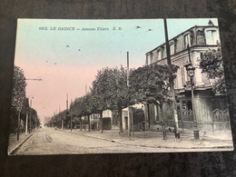 Carte Postale Le Raincy Avenue Thiers N 6475 - Le Raincy