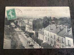 Carte Postale Le Raincy Avenue Du Chemin De Fer 5c - Le Raincy