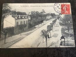 Carte Postale Le Raincy Perspective De L'Avenue De Livry - Le Raincy